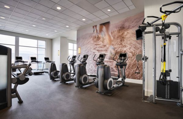 Fitness Studio at Westin Hotel Virginia Beach Town Center