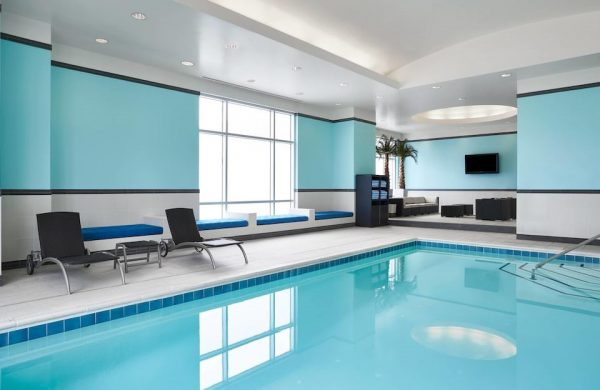Indoor Heated Pool at Westin Hotel Virginia Beach Town Center